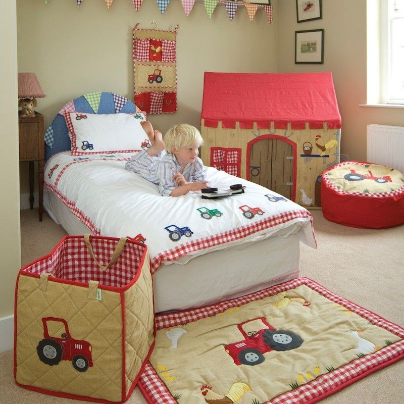 Tractor Themed Bedroom Look At The Cute Tractor Bean Bag Beauteous Tractor Themed Bedroom