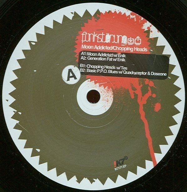Funkstörung - Moon Addicted / Chopping Heads (Vinyl) at Discogs