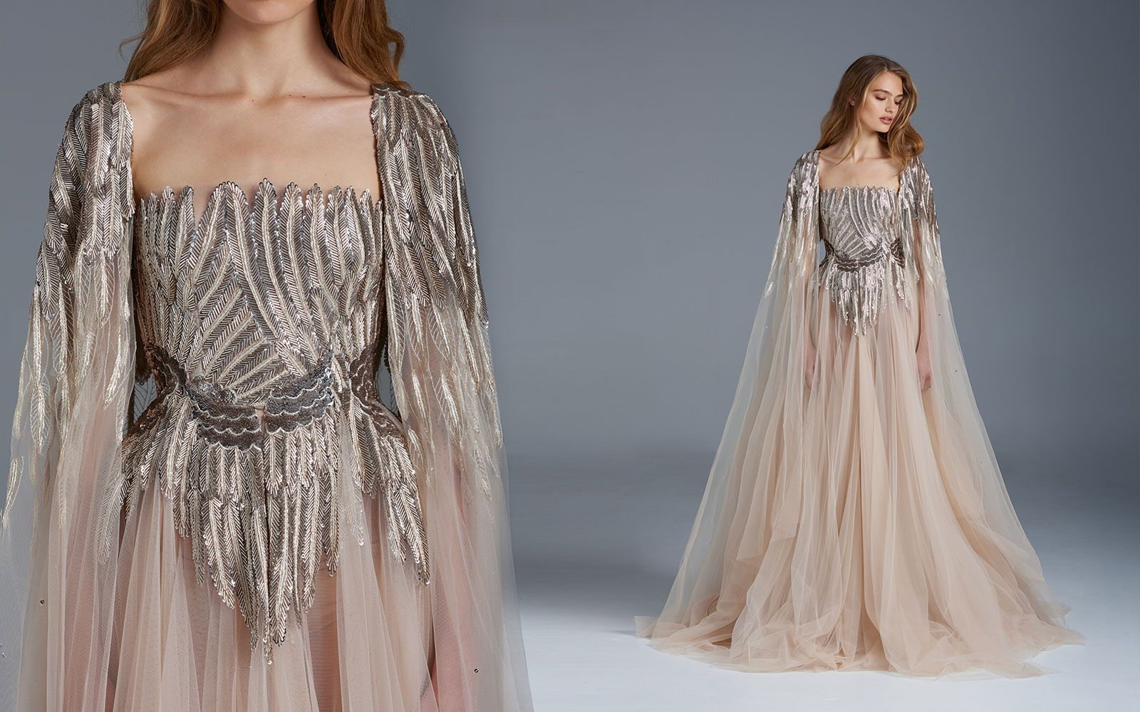 The Nightingale' Paolo Sebastian Spring Summer 2015-2016 Bridal Collection - Voltaire Weddings