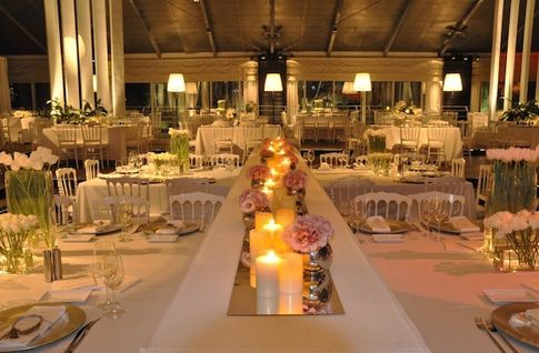 Mirror Tiles For Table Decorations Little Italy Wedding In Israel  Yesbride Wedding Blog  Wedding