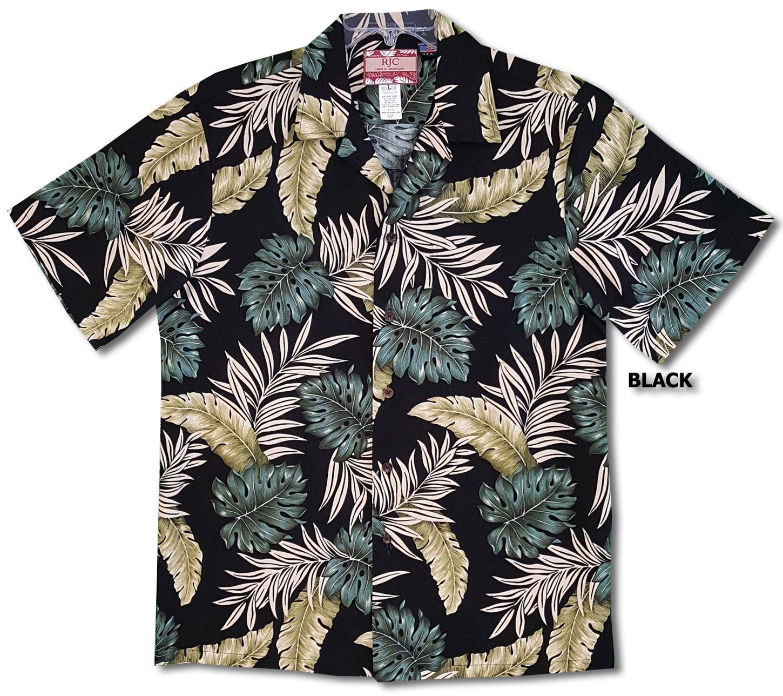 Made in Hawaii USA Fern Mens Hawaiian Shirt