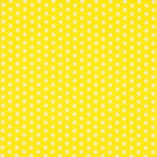 Dots on White Polka Dot Banquet Birthday Party Paper Luncheon Napkins