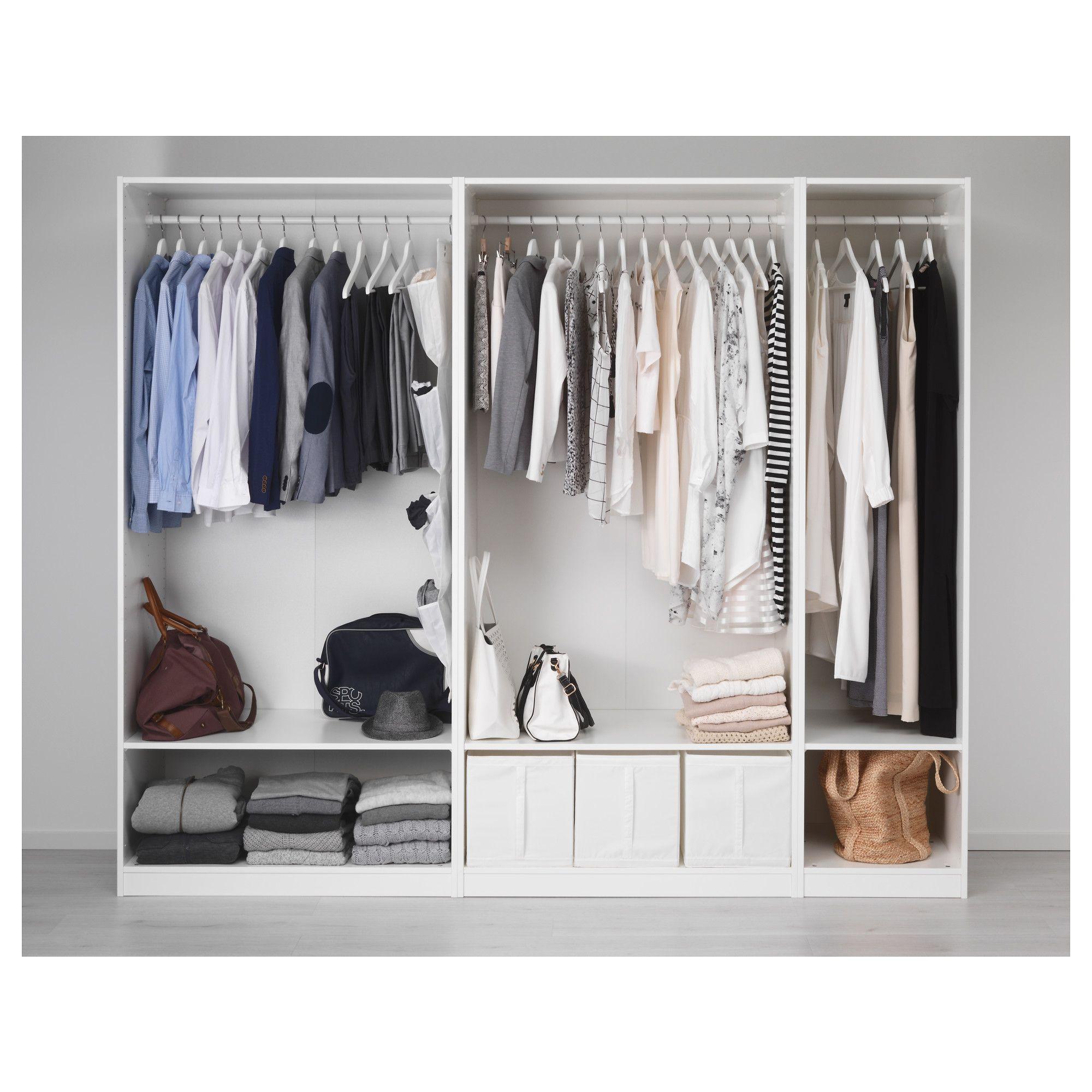 Ikea Pax Wardrobe White Ballstad White In 2018 Home Room