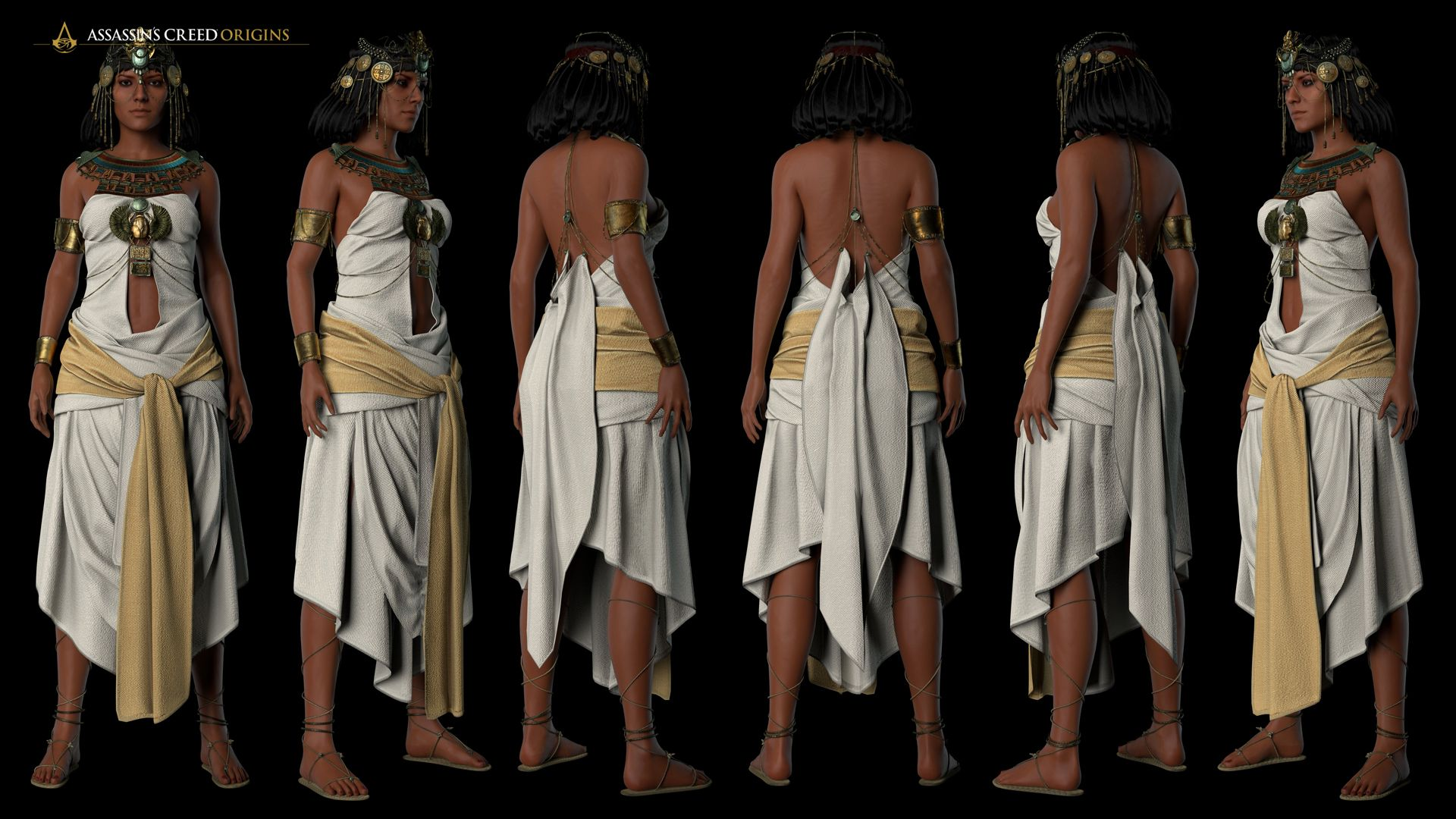 Assassin S Creed Origins Cleopatra Cosplay Guide Assassins