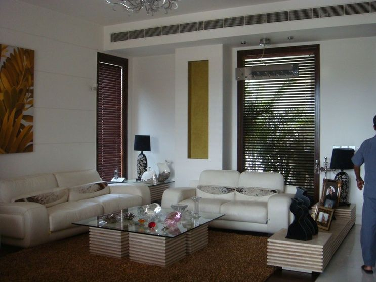 Prime Large Living Room With White Sofas Design By Pinky Pandit Machost Co Dining Chair Design Ideas Machostcouk