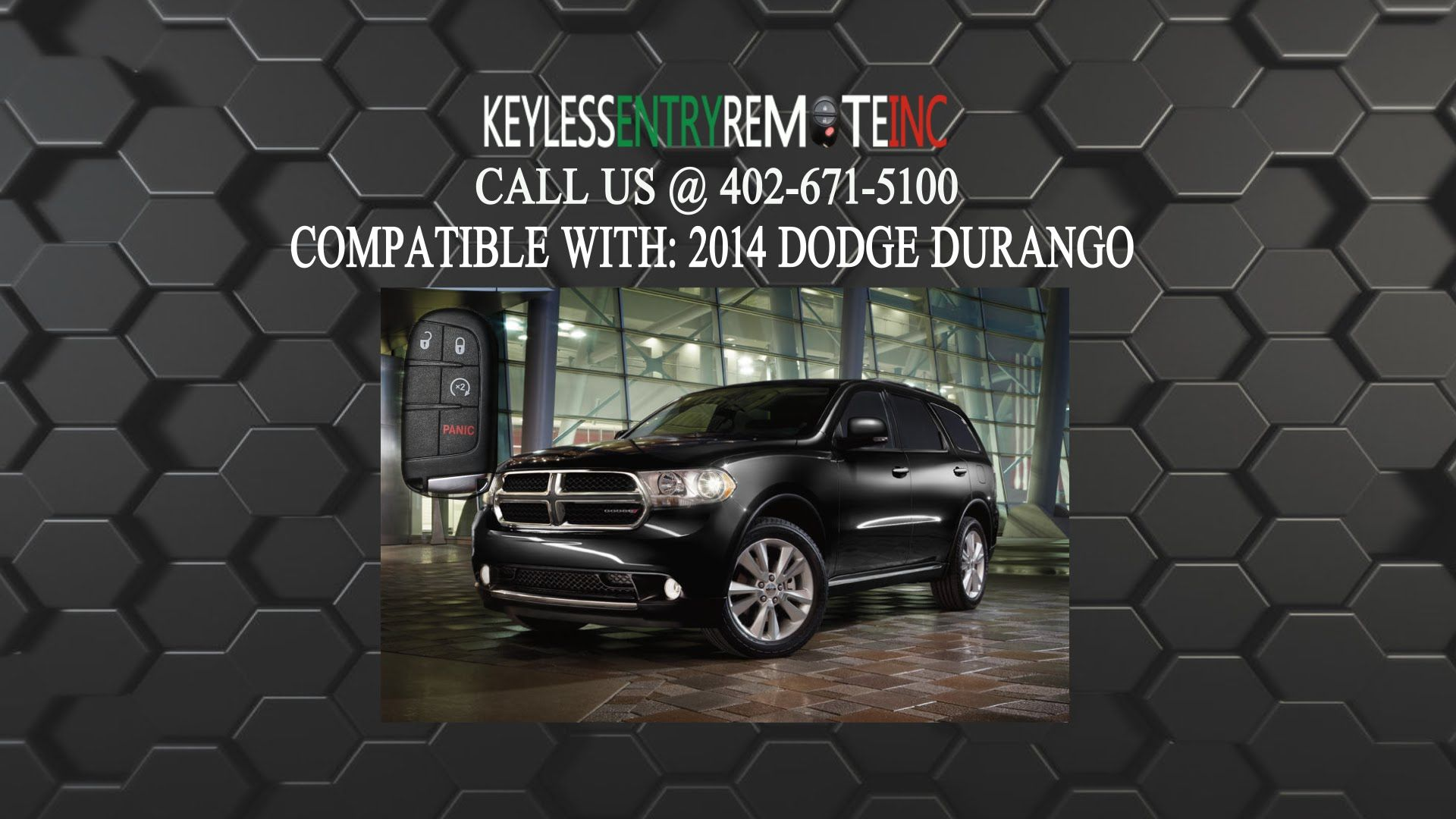 How to replace a dodge durango key fob battery 2014 2016