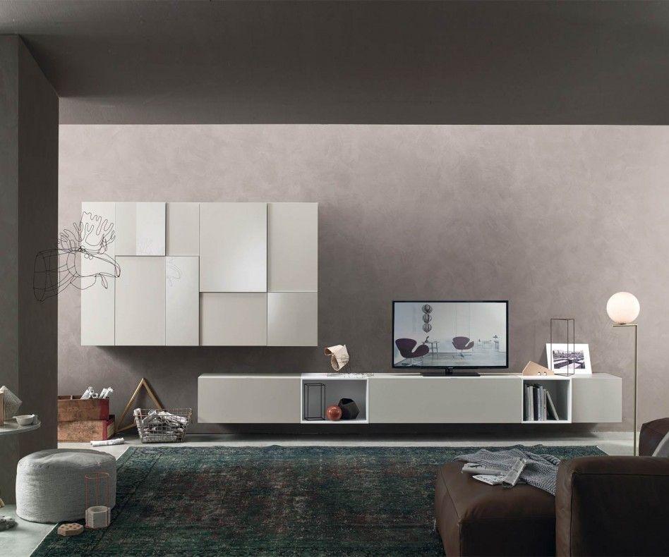 Exceptional Livitalia Wohnwand C07 Im Zeitlosen Modernen Design Aus Italien. #wohnwand  #wohnzimmer #livingroom