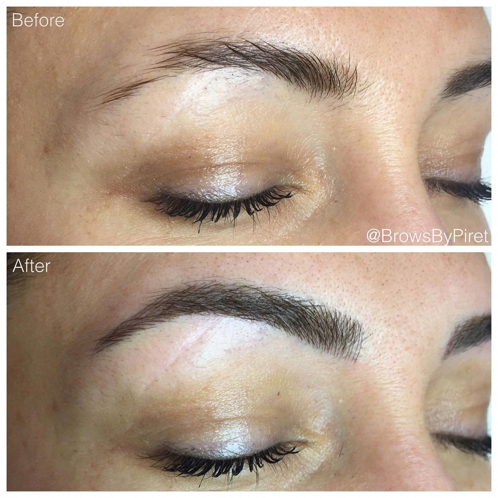 Eyebrow Doctor Eyebrow Tattoo Brows by Piret Before