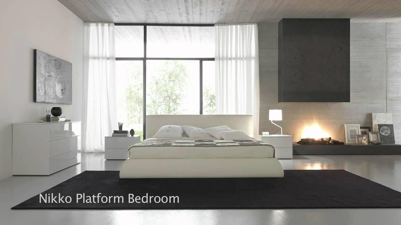 modern japanese style platform beds, bedroom furniture | dojo's