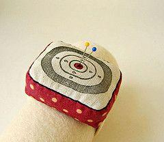 bullseye pincushion