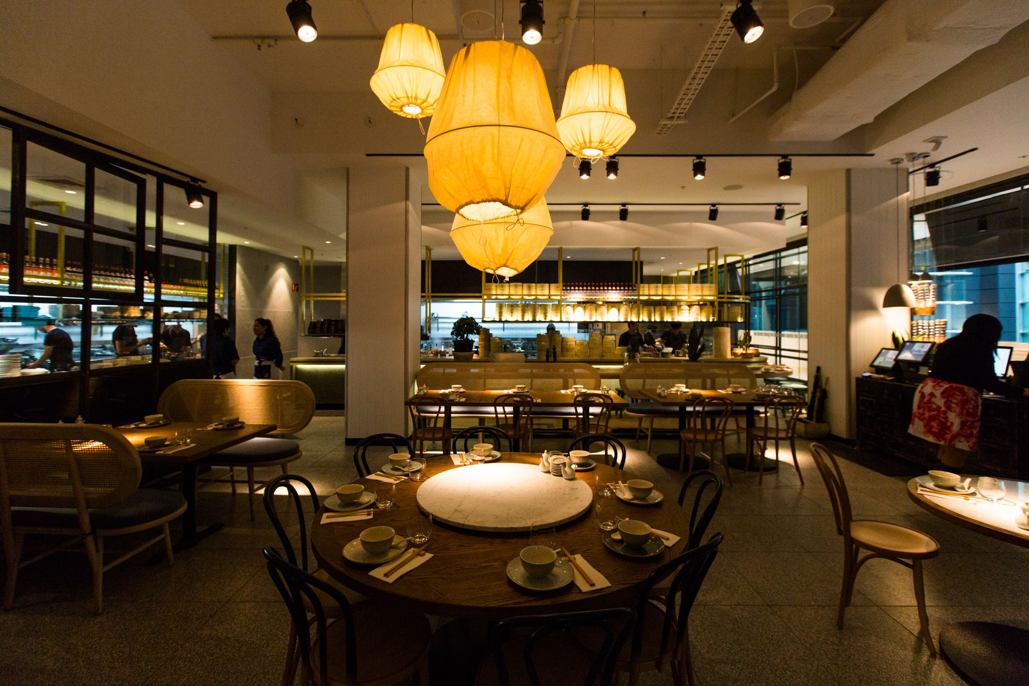 Lotus Restaurant At The Galeries Sydney Design By Ds17