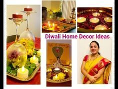5 Diwali Decorative Ideas/Quick and Simple Festive Decor/Sandhya's World