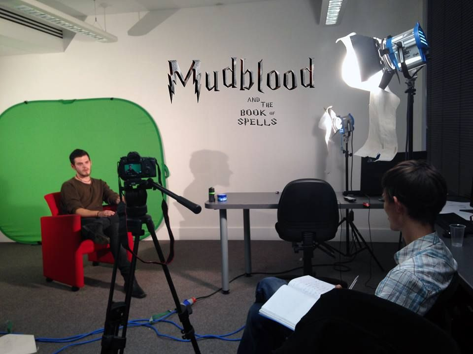 we held interviews to many of our crew, now we only need to edit and you will get to meet many of the actors, production and art teams. We also had the pleasure to meet up with the Harry Potter Society of Manchester University! It's an exciting time in the world of MUDBLOOD  #harrypotter #shortfilm #interviews #mudblood #hogwarts