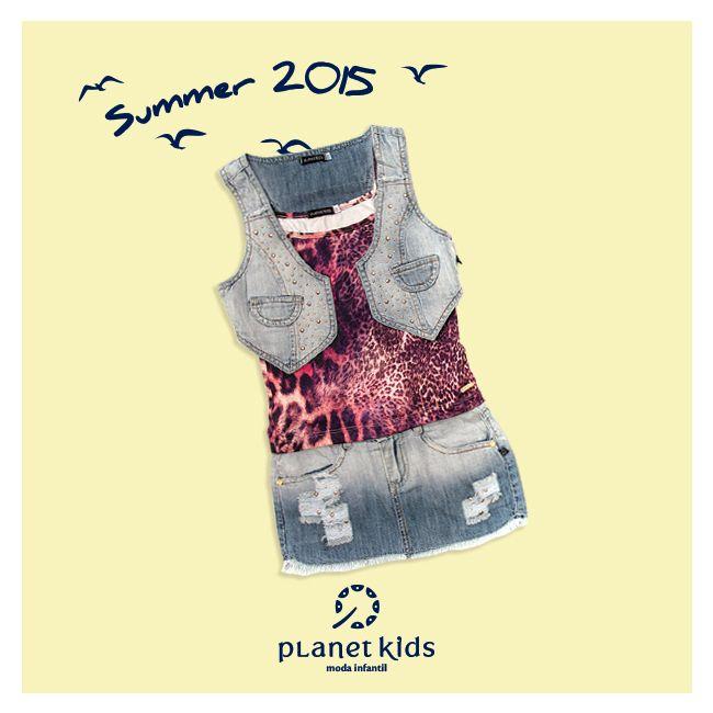 look colete + saia Planet Kids