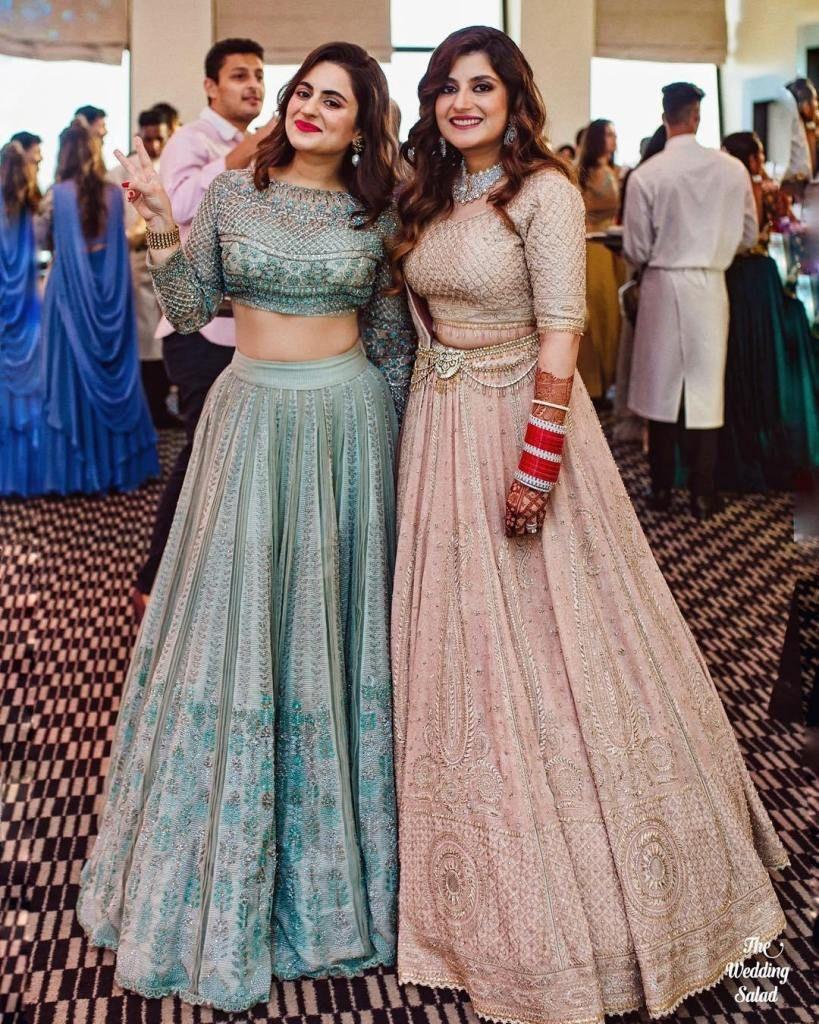 Image result for same wedding lehga for sisters