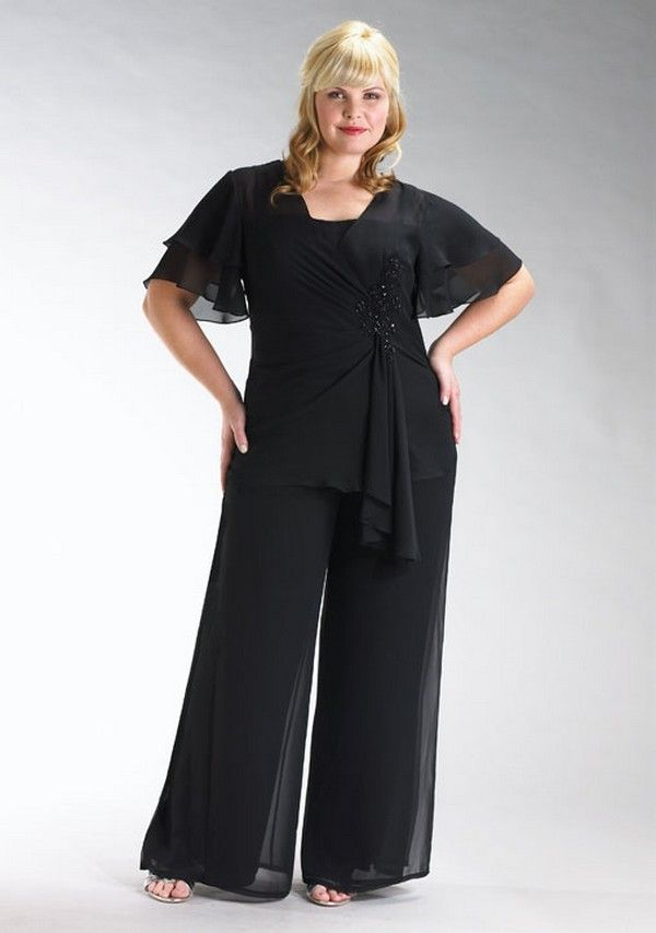 Plus Size Pants Suits For Special Occasions
