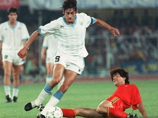 Image result for uruguay belgica 1990