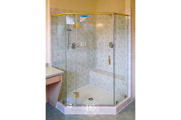 This Glass Shower Door Has Neo Angle Shower Frameless Shower