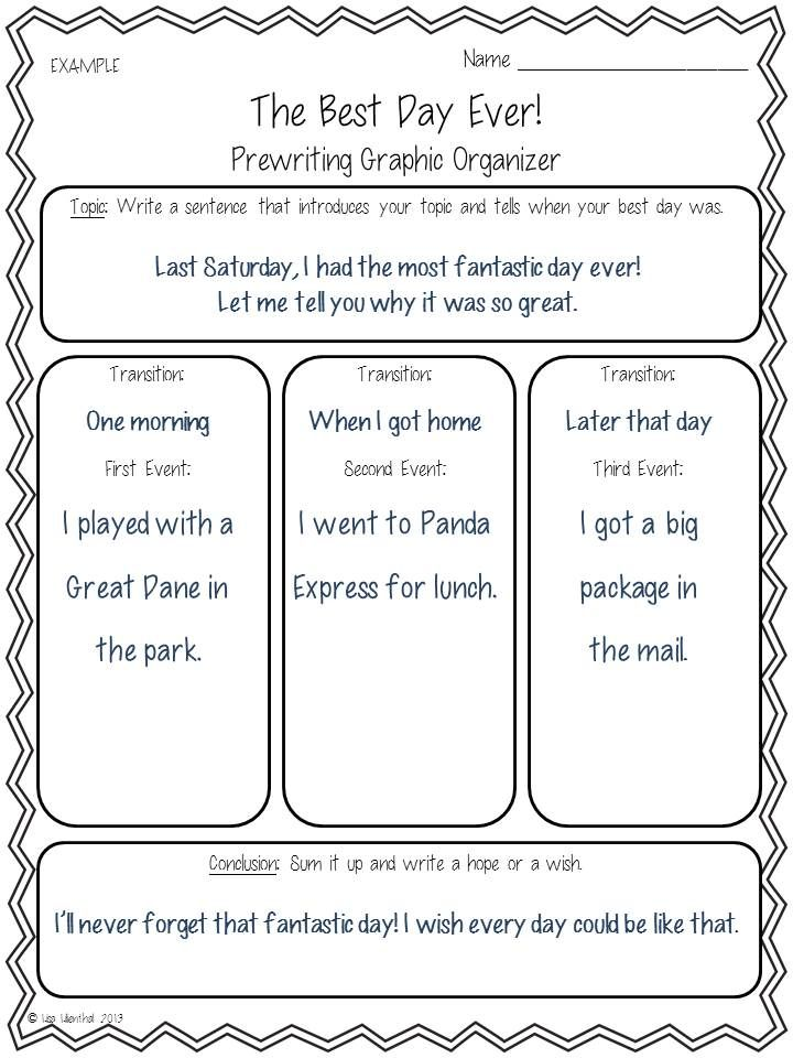 best Narrative Writing images on Pinterest   Teaching writing     From Scholastic has Graphic Organizers for Personal Narratives  to help  make planning and writing narratives that are focused  sequential  and  interesting a