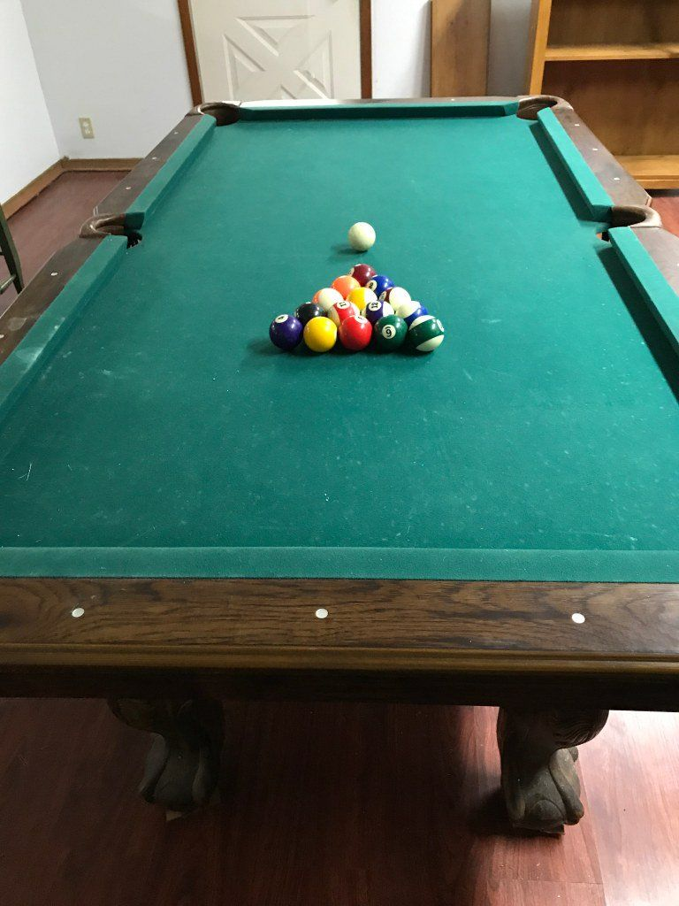 Pooltable Regulation Size Furniture Onalaska TX At Geebo - Regulation size pool table prices