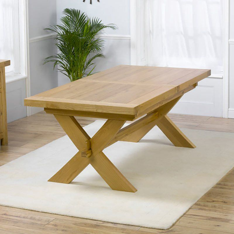 Fabulous Avignon Solid Oak Extending Dining Tables Size 200Cm 160Cm Gmtry Best Dining Table And Chair Ideas Images Gmtryco