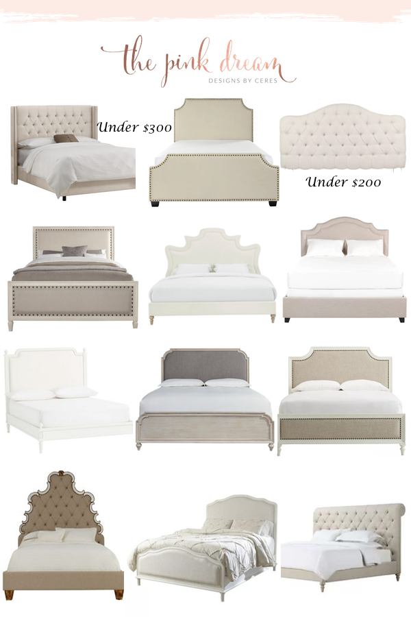 Beds And Upholstered Headboards Roundup Upholstered Bed Frame