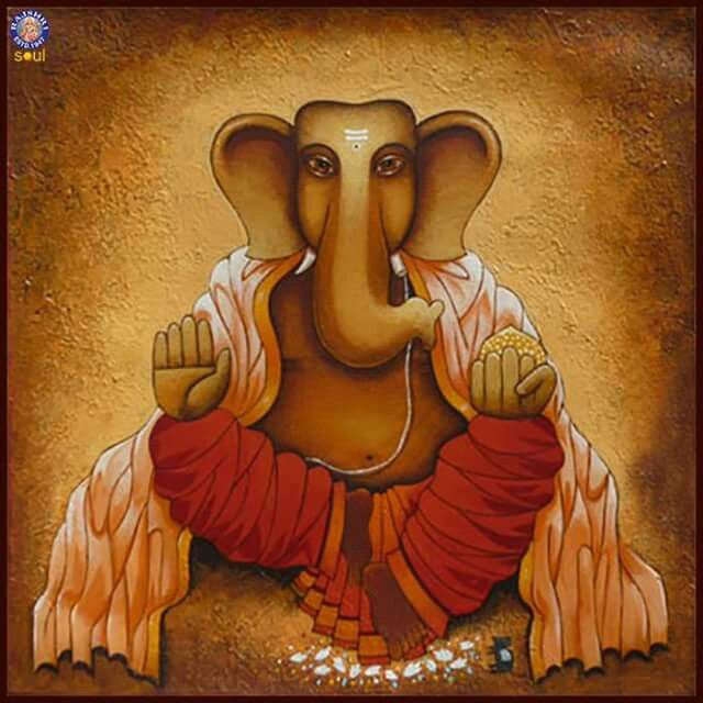 Sri ganesh painting...........