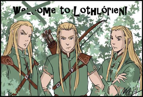 orophin, haldir and rumil