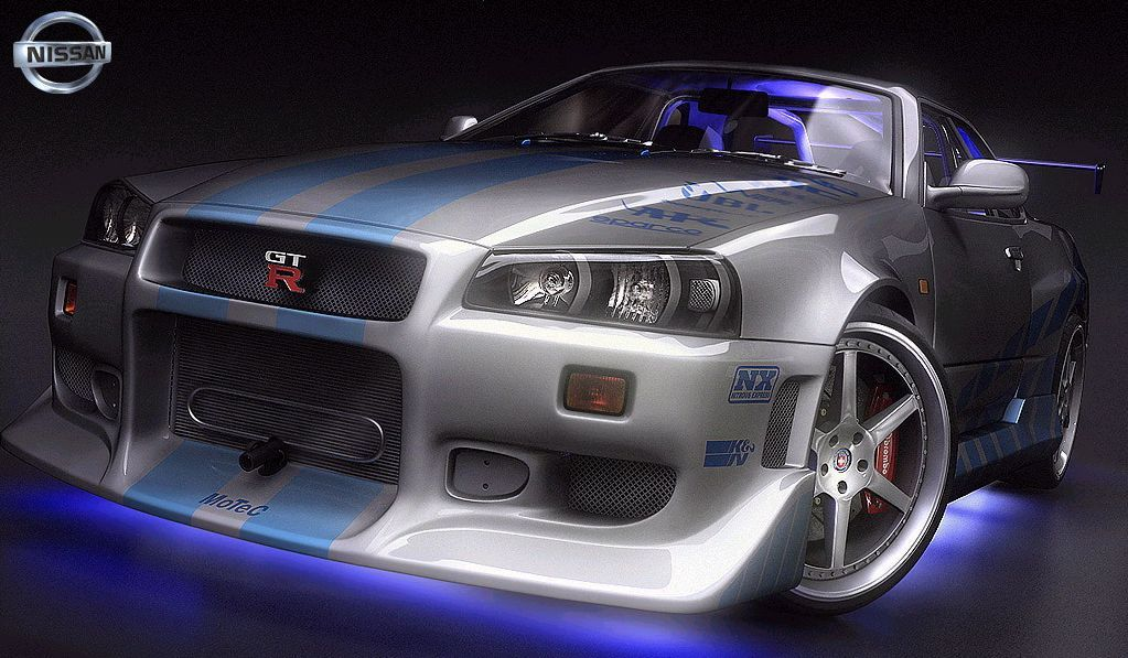 Nissan Skyline Gt R R34 From 2 Fast 2 Furious Sport Cars