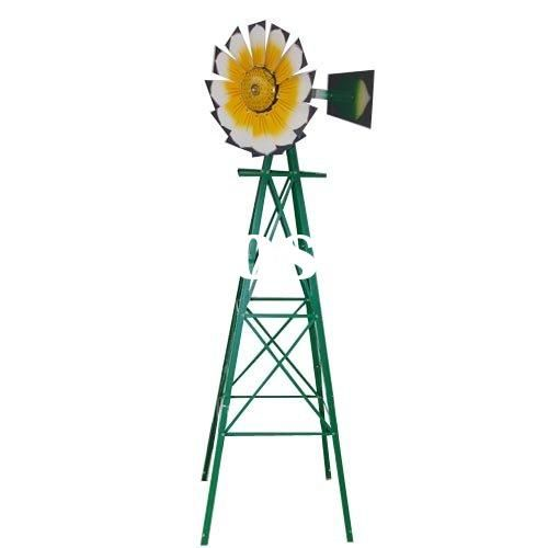Exceptionnel Small Yard Windmills Metal | Metal Windmill 8FT