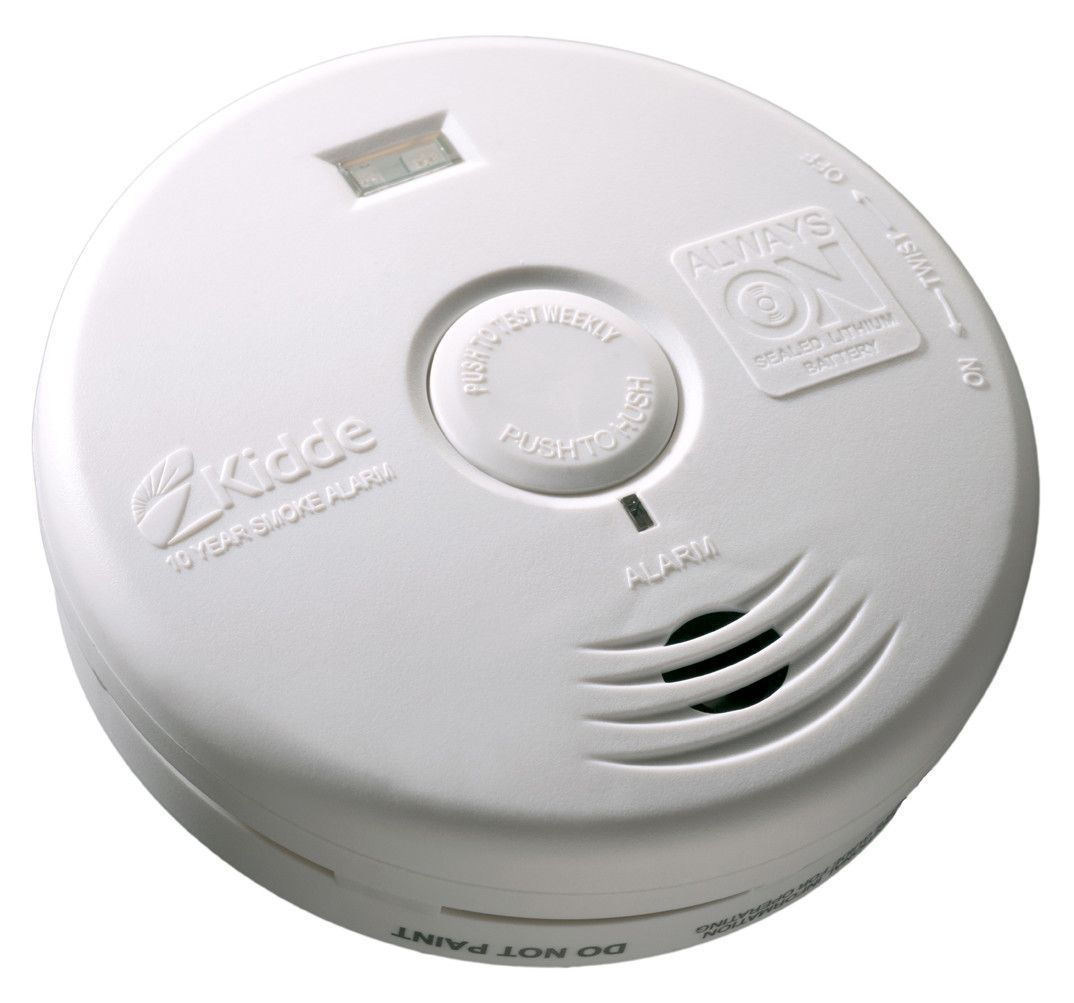 Kidde Battery Operated Smoke Detector With Ionization Sensor 21008051 With Images Smoke Alarms Smoke Alarm Safety Smoke Detector