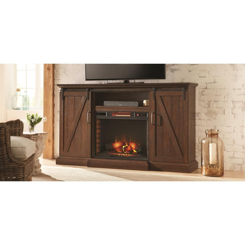 Saw Cut Espresso | Electric fireplaces