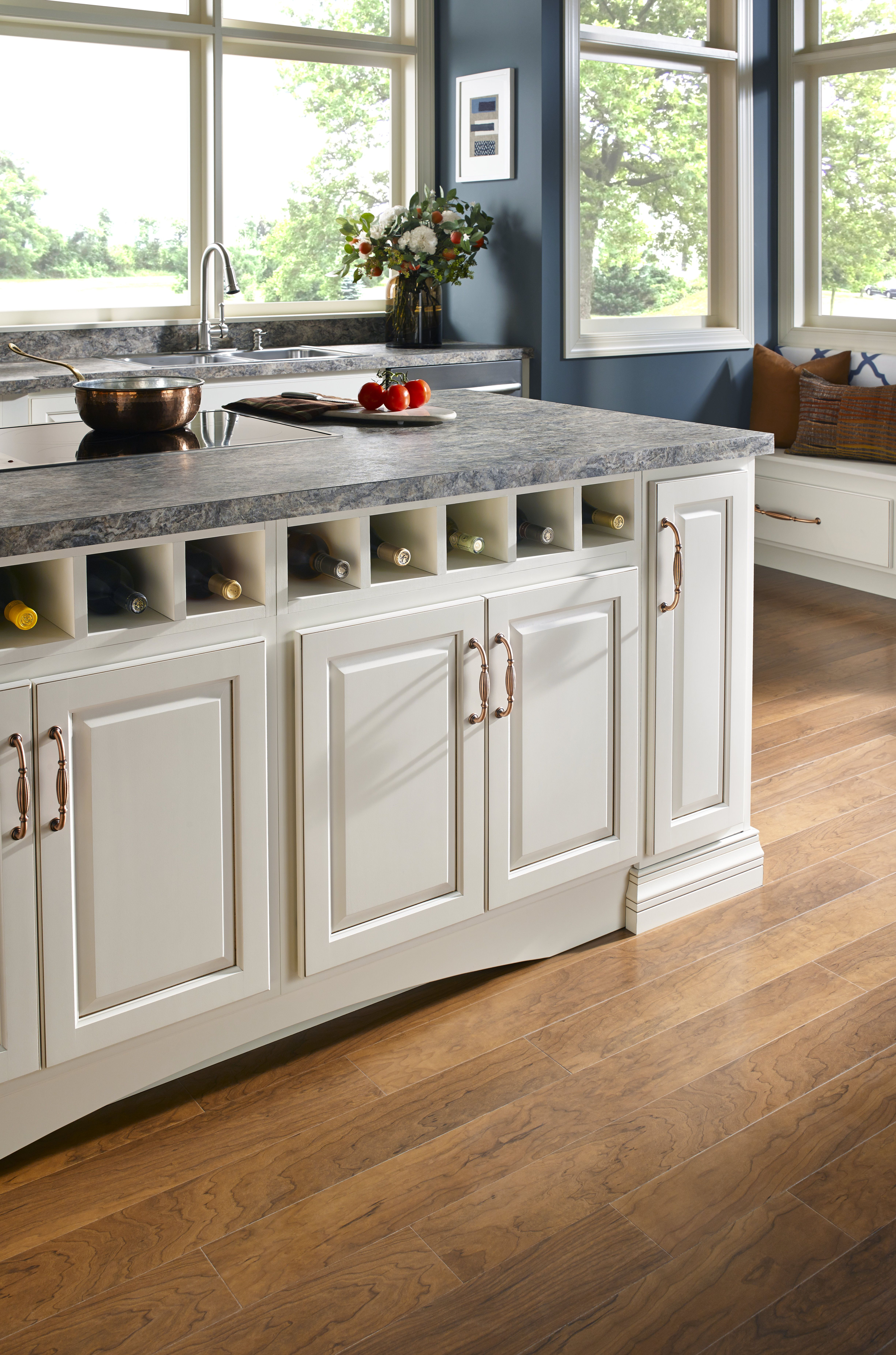 Amerock Allison In New Brushed Copper Decorative Cabinet Hardware