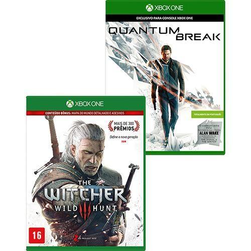 Quantum Break + The Witcher 3 Xbox One R$ 149,59 no boleto