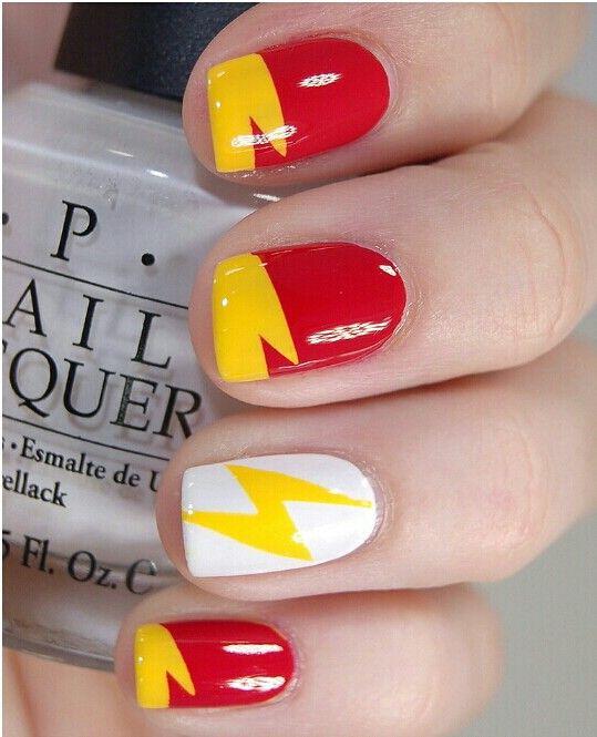 Flash Gordon nails | My Style | Pinterest | Flash gordon