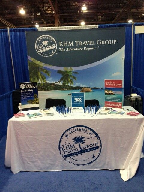 khm travel group booth at home based travel agent forum