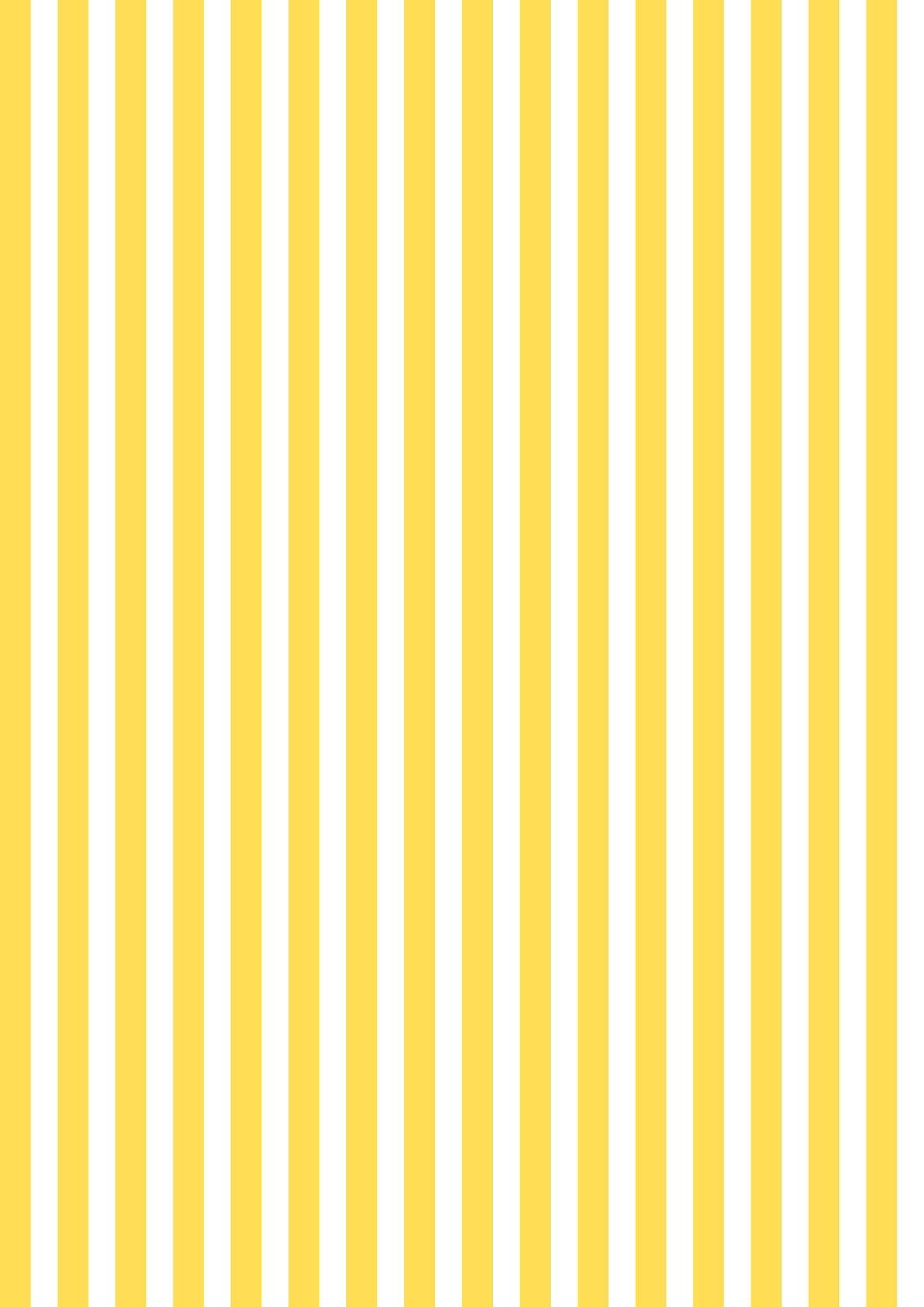 Border frame with black and yellow stripe on white background - Free Printable Yellow White Striped Pattern Paper