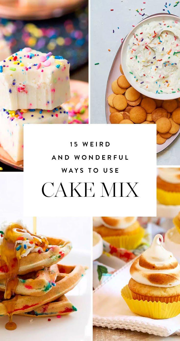 Recipe Weird desserts