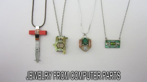 Make Jewelry From Computer Parts Computerpartsandcomponents Computer Parts And Co In 2020 Computers Tablets And Accessories Computer Parts And Components Computer