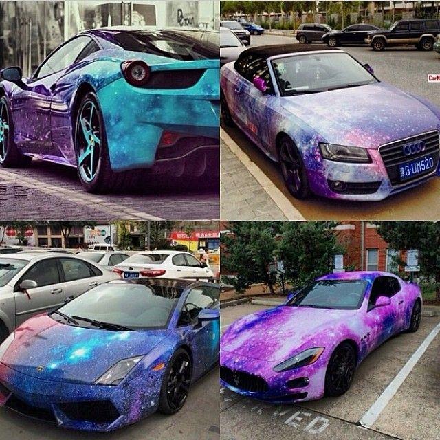 Galaxy Wraps Car Wrap Vinyl Wrap Car Car Paint Jobs