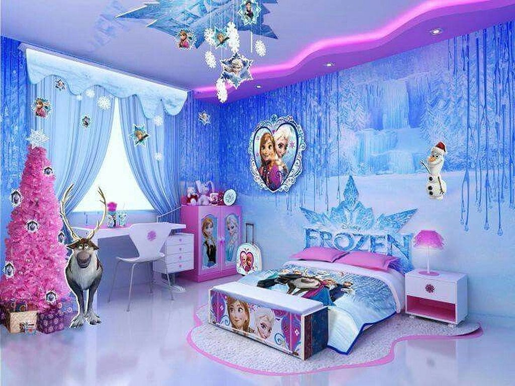 20 Lovely Frozen Themed Room Decor Ideas Your Kids Will