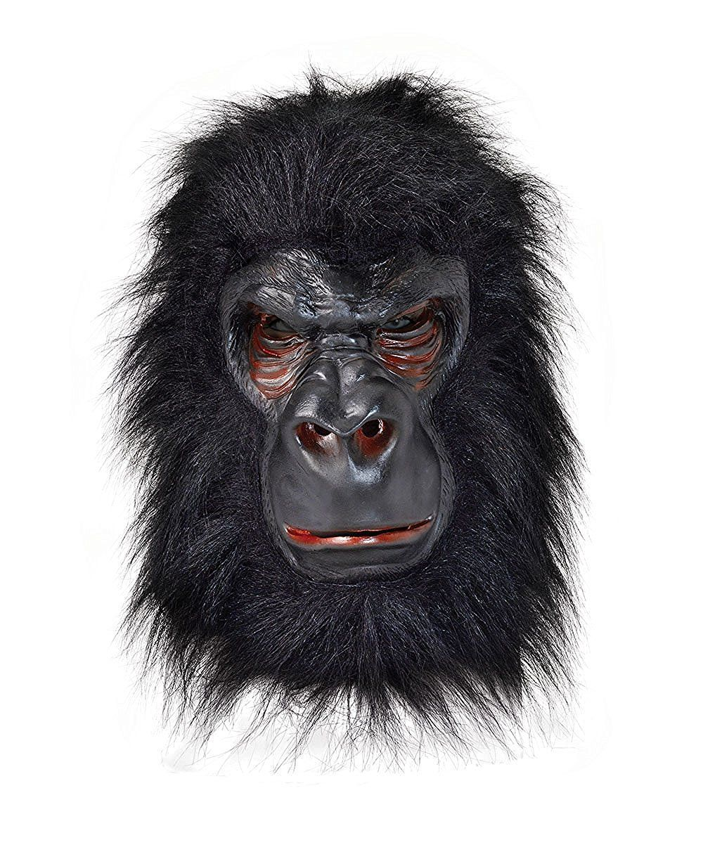Rubie's BM371 - Gorilla Latex Mask, One Size: Bristol Novelty: Amazon.co.uk: Toys & Games