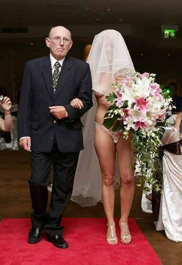 Wedding Naked dresses bride