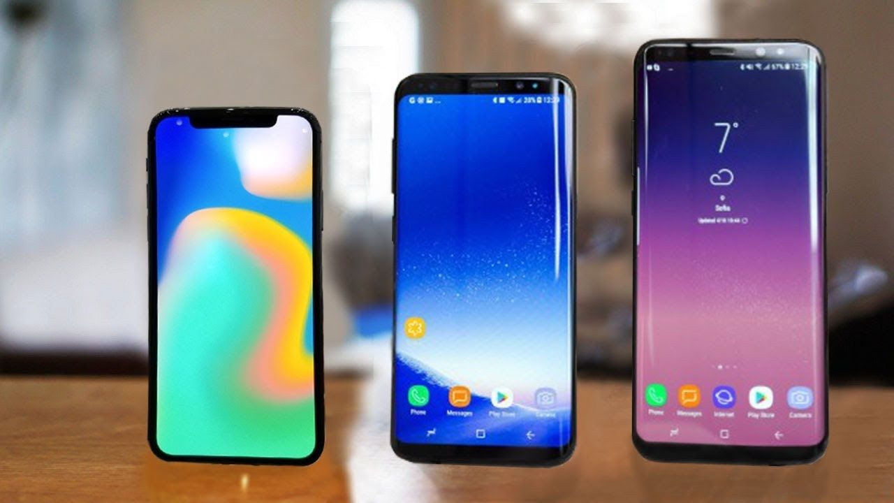 Image result for iPhone X vs Samsung Galaxy S8 Fire Burn Test!