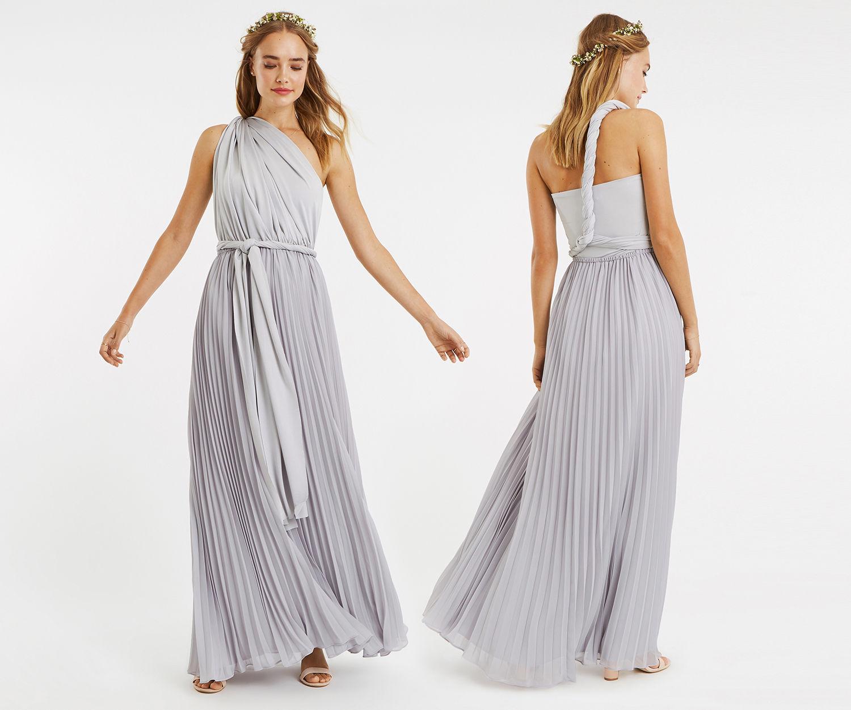 Desiger Oasis London Pale Pink One Shoulder Maxi Dress 67415 Hot Sale Shoulder Maxi Dress Maxi Dress Chiffon Maxi Dress