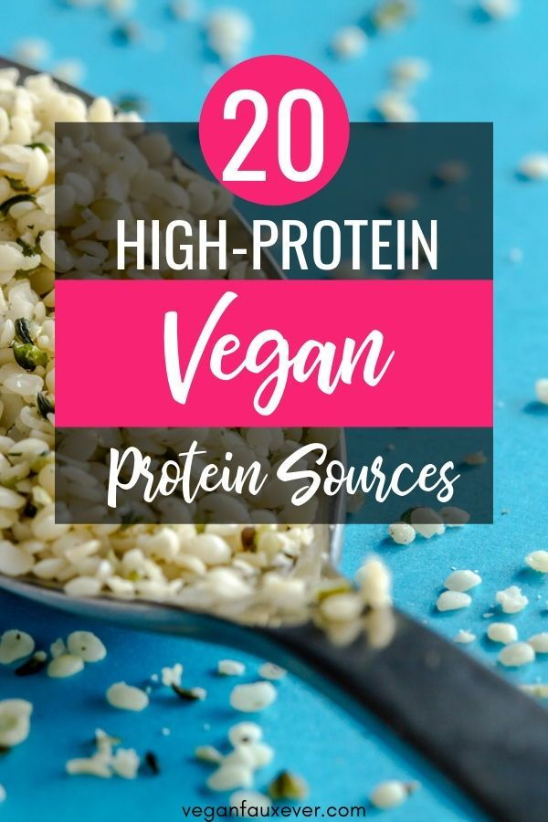Vegan protein sources are everywhere. There's protein in all plant-based foods! Wondering how to get enough protein on a vegan diet? No need for meat--just stock up on these vegan protein sources!