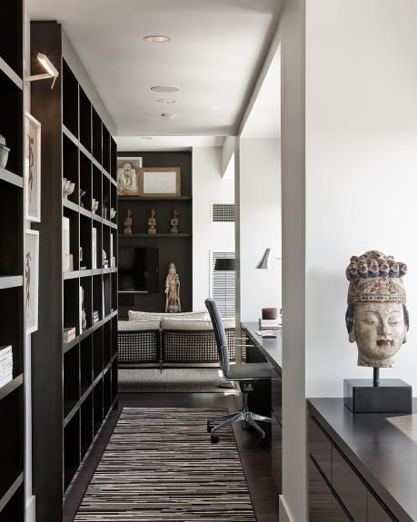 Library Built-ins and desks (w hotel @ boston)