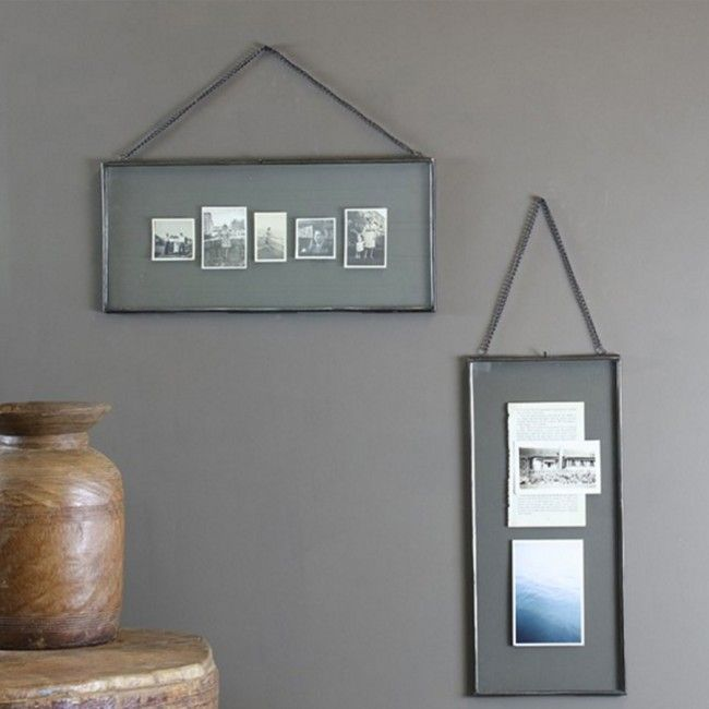 Long Gigantic Kiko Glass Hanging Frame - Landscape | Hanging frames ...