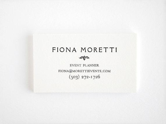 Elegant letterpress business cards personalized by seabornpress elegant letterpress business cards personalized by seabornpress 5000 reheart Choice Image
