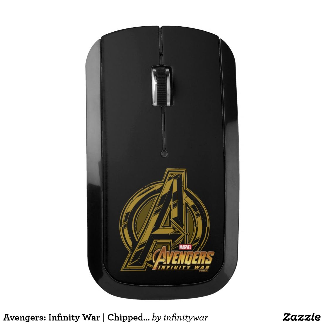 Avengers: Infinity War | Chipped Avengers Icon Wireless Mouse ...
